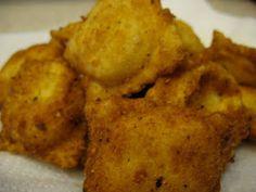 Frieda Loves Bread: Homemade Fried Three Cheese Ravioli