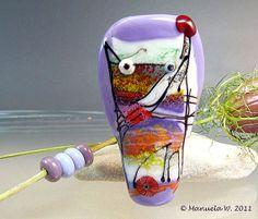Fishermans+Dog++Handmade+lampwork+focal+fish+by+ManuelasGlassArt