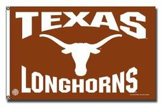 NCAA Texas Longhorns 3-Foot x 5-Foot Banner Flag by Rico. $25.00. 3x5' banner flag printed with team logo in vibrant colors. Quality cloth withstands the elements. Brass gromments perfect for running up a flag pole. Made in the USA. Show off your school spirit by displaying this officially licensed NCAA® team 3' x 5' banner from RICO in your home or office. Team graphics adorn the high-quality banner. Brass grommets are included so the banner can be hung from a flag pole.