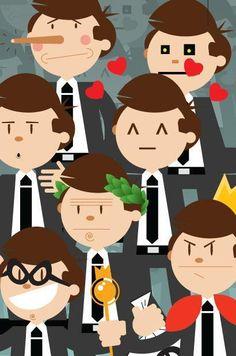 Defeitos dos Chefes: Conheça os defeitos dos chefes e veja como lidar com eles.  http://www.terra.com.br/economia/infograficos/defeitos-chefes/