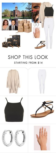 """First Day Back for Senior Year (Part 1)"" by josephine-valeria ❤ liked on Polyvore featuring Topshop, Maiden Lane, Kiki mcdonough, Tobi and Steve Madden"