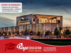Abroad Education in Germany - Germany is one of the World's leading book nations publishing around 94,000 titles every year.