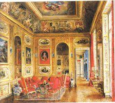 The Peak of Chic®: Painter of Interiors: Alexandre Serebriakoff