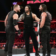 Raw The Shield vs. Renee Young Wwe, Wwe Raw And Smackdown, Raw Wwe, Roman Reigns Dean Ambrose, Wwe Seth Rollins, Best Wrestlers, The Shield Wwe, Braun Strowman, Dolph Ziggler