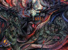 Futurisme ~ Umberto Boccioni ~ Stati d'animo, Gli adii ~ 1912 ~ Olieverf op doek ~ 71 x 96 cm. ~ The Museum of Modern Art, New York Georges Braque, Italian Painters, Italian Artist, Henri Matisse, Umberto Boccioni, Giacomo Balla, Italian Futurism, Futurism Art, Franz Marc