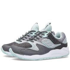 Saucony Grid 9000 x END White Noise (Grey/White/Mint) - Sale Price: $95 (MSRP: $149.00) 36% Off