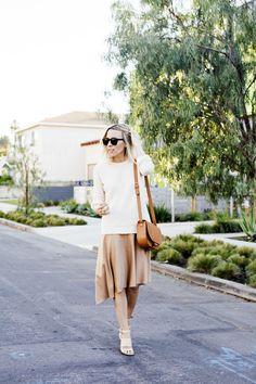 skirt + sweater