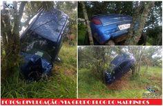 BLOG DO MARKINHOS: Veículo Celta capota na Rodovia PRC-487 em Cândido...