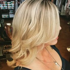 Soft ombre blonde by jessi