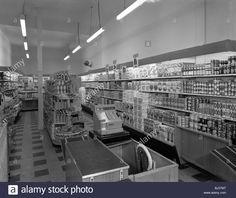 Carlines Self Service Store, Mexborough, 1960