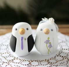 The cutest cake toppers!!