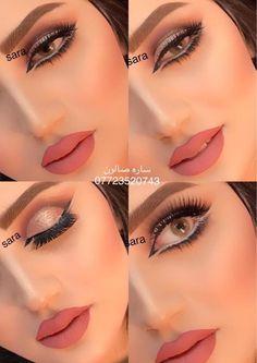Eye Makeup Steps, Makeup Eye Looks, Beautiful Eye Makeup, Bridal Makeup Looks, Smokey Eye Makeup, Eyeshadow Makeup, Makeup Tips, Glitter Eye Makeup, Glam Makeup