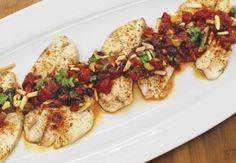 Tilapia with Tomato Chutney