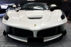 Cars - Ferrari LaFerrari : princesse blanche chez ProTech Monte-Carlo... - http://lesvoitures.fr/ferrari-laferrari-protech-monte-carlo/