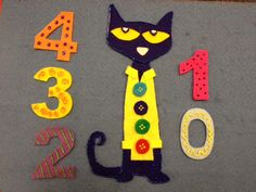 Flannel Friday! Pete the Cat and His Four Groovy Buttons