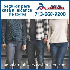 Somos diferentes... hay un seguro adecuado a tus necesidades. Houston, Popular, Life Insurance, Popular Pins, Folk, Most Popular