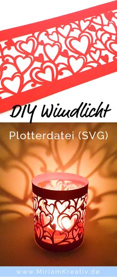 Plot a great heart lantern in a jiffy as a decoration or gift - Tealight holder with hearts – SVG The Effective Pictures We Offer You About diy basteln A qualit - Cricut Projects To Sell, Diy Craft Projects, Crafts To Sell, Easy Crafts, Gift Crafts, Cricut Vinyl, Bag Jeans, Diy Chandelier, Diy Outdoor Furniture