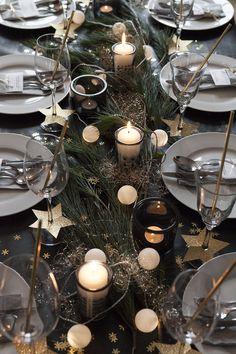 Weihnachtsessen mit Freunden. In dieser kleinen Serie wollen wir euch zeigen, wie toll eine gedeckte Weihnachtstafel aussehen kann.