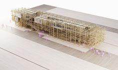 Austrian Pavilion For Milan Expo 2015 Is A Novel Organic Farm