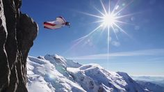 EpicTV Video: Pure Wingsuit Flight From Aiguille du Midi La Face, Base Jumping, Person Sitting, Open Up, Beautiful Sunset, Mount Everest, Thats Not My, Meditation, In This Moment