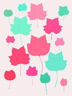 Mapleleaf 2 - Art Print by Garima Dhawan/Society6