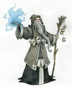 Wizard by MarcoL87.deviantart.com on @DeviantArt