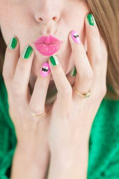 DIY Kiss Me I'm Irish Mani | Studio DIY®