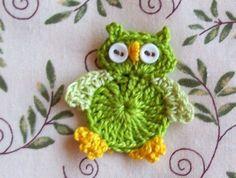Crochet owl by Etsy seller littlemargie. $3.25  [per previous pinner]