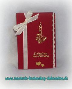 Einladung,Firmung,Kommunion,Konfirmation,Weinrot