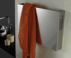 Buy affordable towel warmers, heated towel bars, electric towel bars, hydronic towel warmers, plug in towel warmers at Towel Warmer Outlet. One Stop shop for your towel warmer needs. Heated Towel Bar, Towel Warmer, Bathroom Styling, Bathroom Ideas, Living Styles, Brushed Stainless Steel, Mold And Mildew, Cool Designs