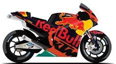 RED BULL KTM FACTORY RACING   #38 - Bradley Smith ( GBR )   #44 - Pol Espargaró ( ESP )   #36 - Mika Kallio ( FIN )