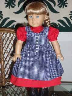 Special Order for Heidi  A Patriotic by alohagirldollclothes, $44.50