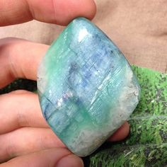 Green and blue mermaid kyanite - Kyanite is an excellent stone for attunement, dream recall, and meditation, instilling a sense of tranquility while providing greater awareness and intuition. Spiritual practitioners value Kyanite for its ability to rapidly align the chakras and clear stagnation from the body's meridians (energy pathways). It is also one of the few stones that never retains negative energy, and is thus never in need of cleaning or recharging.