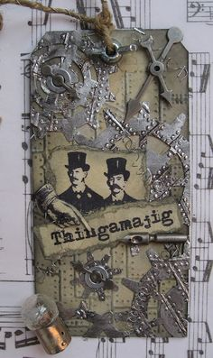 inkypinkycraft: a happy steampunk tag swap..  http://inkypinkycraft.blogspot.co.uk/2012/09/a-happy-steampunk-tag-swap.html