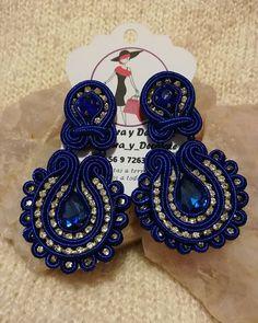 Handmade Beaded Jewelry, Boho Jewelry, Earrings Handmade, Soutache Necklace, Tassel Earrings, Beaded Embroidery, Jewerly, Creations, Diy
