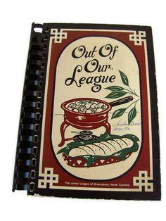 Vintage Cookbook by BeckVintage on Etsy, $12.00