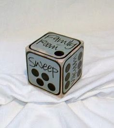 Roll the dice for chores! good for in trouble chores
