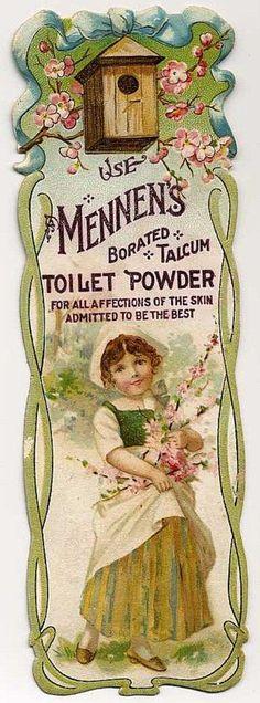 mennen's borated talcom toilet powder