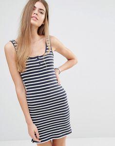Jack+Wills+Striped+Jersey+Tank+Dress