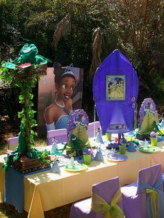Princess Tiana Party by Treasures and Tiaras Kids Parties, via Flickr