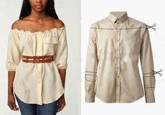Переделка старой рубашки