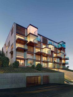 *지그재그 발코니 하우스 [ MPA Architetti ] Lomocubes :: 5osA: [오사]
