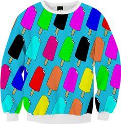 Popsicles Sweatshirt from Print All Over Me