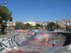 #skatepark #bikes