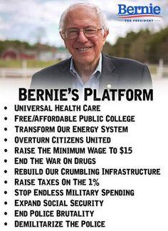 Compare Jill Stein's Platform at:  jill2016.com  #ItsInOurHands