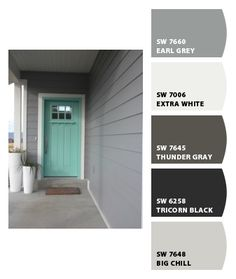 Paint colors from chip it by sherwin williams earl gray - Sherwin williams thunder gray exterior ...