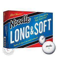 TaylorMade Noodle Long & Soft Golf Ball, 15-Ball Pack - http://golfforchampions.com/taylormade-noodle-long-soft-golf-ball-15-ball-pack/