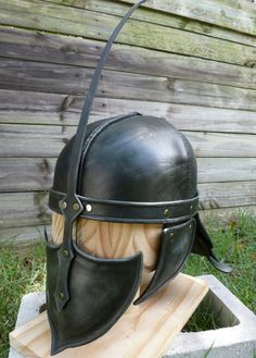 Leather Unsullied Helmet from Game of Thrones by CraigsProjects
