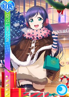 School Idol Tomodachi - Cards Album: #203 Toujou Nozomi UR Love Live Nozomi, Live Love, Cute Girls, Anime Characters, Muse, Idol, Sunshine, Sweet Girls, Cartoon Characters