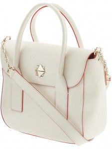 Love white bags....New Bond Street Florence by Kate Spade New York